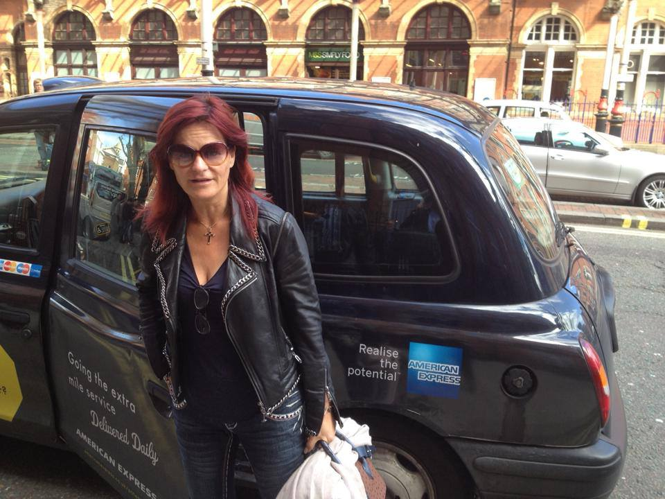 Andrea Berg i London