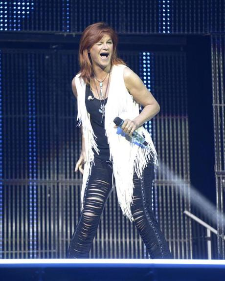 Andrea Berg beim Konzert Die Schlagernacht des Jahres 2015 in der Lanxess Arena. Köln, 25.04.2015 Foto:xP.xMertensx/xFuturexImage Andrea mountain the Concert the Schlager night the Year 2015 in the Lanxess Arena Cologne 25 04 2015 Photo XP xMertensx xFuturexImage